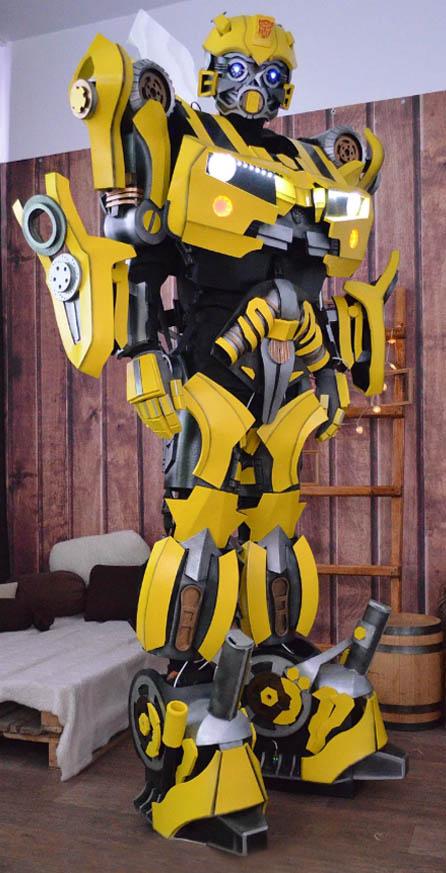 Заказать Робота Bumblebee на праздник